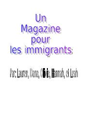 French Immigration Magazine