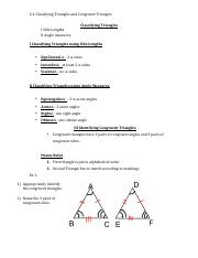4.1 Classifying Triangles and Congruent Triangles. .pdf