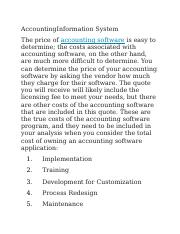 AccountingInformation System.docx
