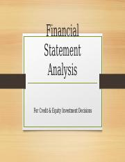 Financial Statement Analysis for Credit and Equity Decisions.pptx