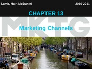Chapter 13_Marketing Channels