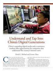 Week 3-Understand and Tap Into China's Digital Generations