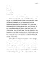Alex short story essay