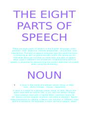 THE EIGHT PARTS OF SPEECH.docx