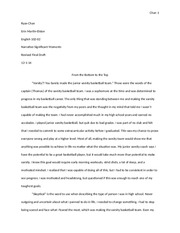 Essay 1 Final Revised