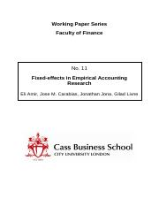 fixed effects models in empirical accounting research.pdf