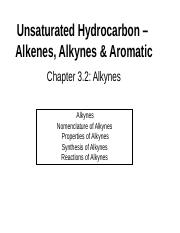 Chapter 3.2 Alkynes.ppt