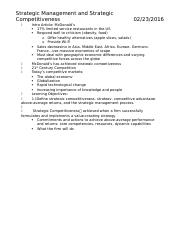 MGMT 3013 Exam 1 Study Guide