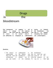 Drugs in the Bloodstream.docx