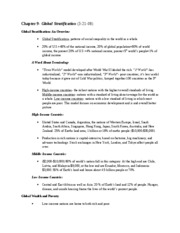 Sociology-Chapter 9 Notes