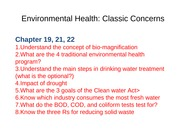 Environmental Health I Classic Concerns web
