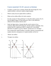 3333 Econ CH 10 hw with answers