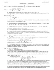 STATS 250 Homework 5 Solutions