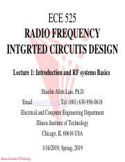 Lecture 7 ECE525 RF Circuits Design Spring 2017 pdf - ECE
