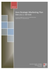 Strategic Marketing Plan, Zara, Arteixo, Spain