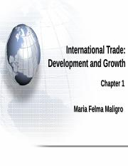 International Trade Development and Growth.ppt