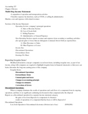 Accounting 327 Book Notes Ch 4
