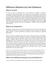 Difference Between Act and Ordinance.docx
