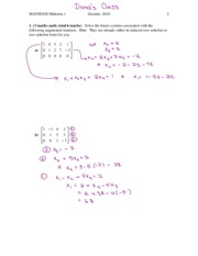 Fall 2010 Midterm #1 Solutions