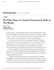 The False Hope of a Limited Government, Built on Tax Breaks - NYTimes.pdf