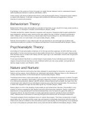 Psychology is the science of mind.docx