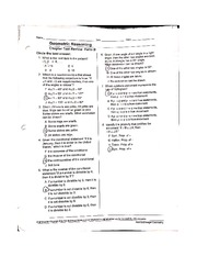 Angle Degrees Test Review Worksheet