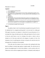 PHIL101 - first exercise_Essay