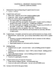 CHAPTER 14 - Property Trans Summary - Capital Assets(1)