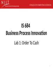 IS684-LabUnit#1-Order_To_Cash.pptx