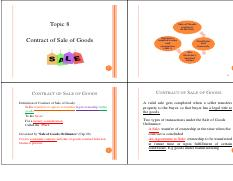 Topic 8_Contract of Sale of Goods_4 in 1