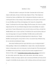 REL 2315 Riedel Analytical Essay