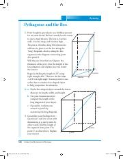 Pythagoras and the Box
