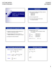 ECON255_Slides_5_Limits and Derivative