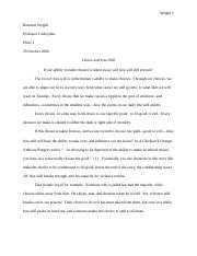 Fourth Essay