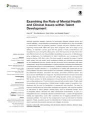 role of mental health quali