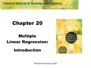 Chapter 20 lecture