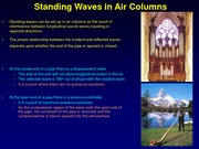 10) Standing Waves and Beats