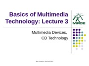 2-CD and Multimedia Devices