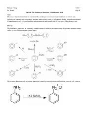 Lab 28_ The Sandmeyer Reaction_ 2-Iodobenzoic Acid.docx