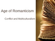 HUIS 222 Fall 2010 Age of Romanticism Powerpoint