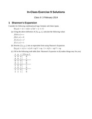 Exercise9Solutions