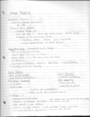Other Prevention Care Athletic Injuries Notes