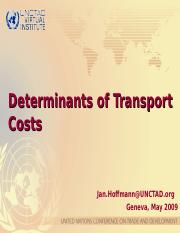 determination of transport costs.ppt
