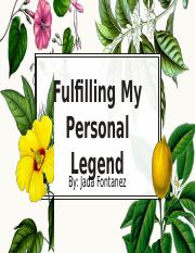 Personal Legend Project