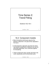 trend fitting noteshells