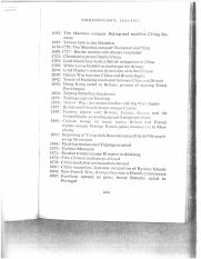 chronology 1644-1949