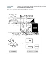 Tool Project-Orthographic Drawing-Example