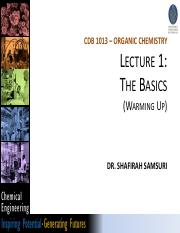Lecture 1 Organic Chemistry.pdf