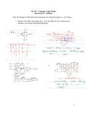 EE 347 Homework 3 Solution (Winter 2011)