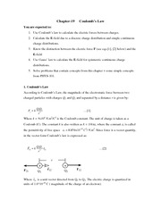 phys chapter 19 notes